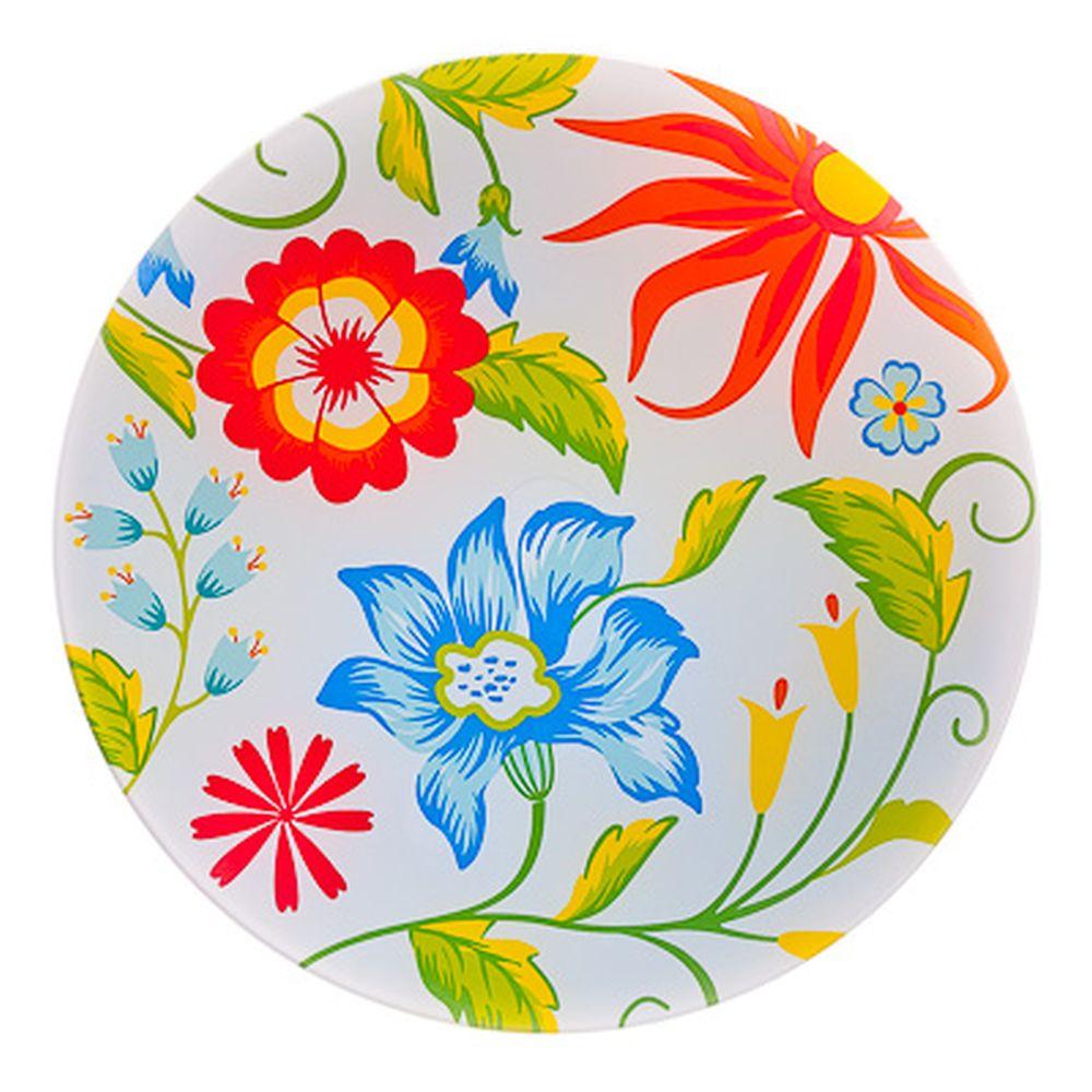 VETTA Весна Блюдо вращающееся 30,5см, стеклянное