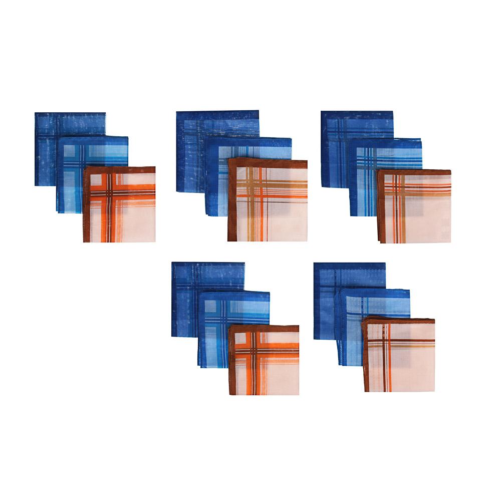 Набор носовых платков, мужские, хлопок, 28х28см, 3шт, арт.GL-2904-2