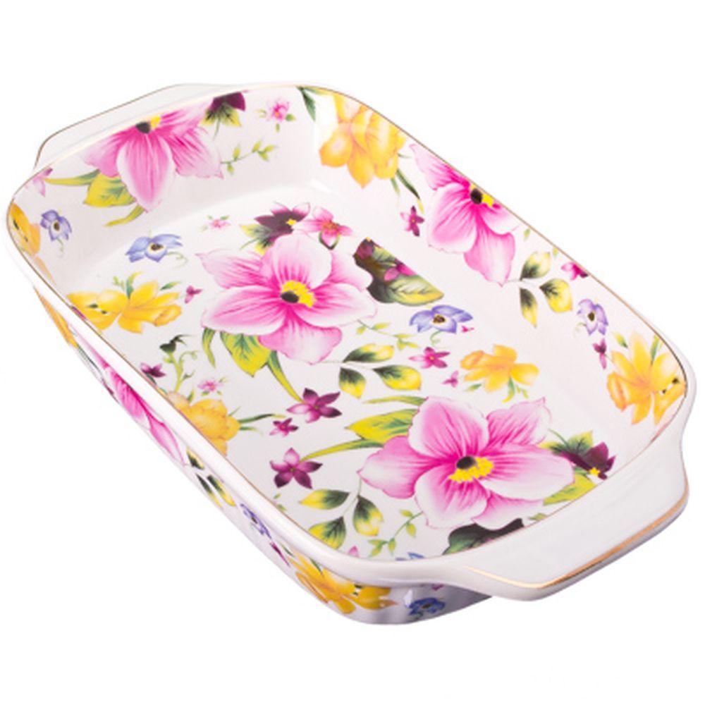 Душистые цветы Салатник-шубница, 28см, фарфор