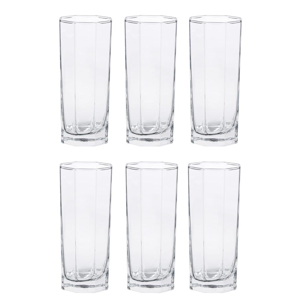 "PASABAHCE Набор стаканов 6шт для коктейля, 260мл, ""Kosem"", 42078b"