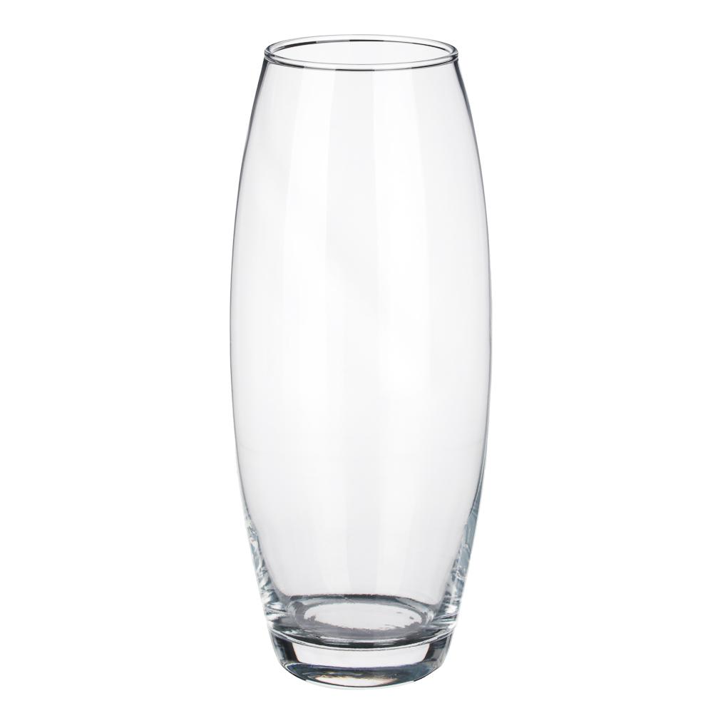 """Ваза стеклянная h26 см, стекло, PASABAHCE """"Flora"""""""