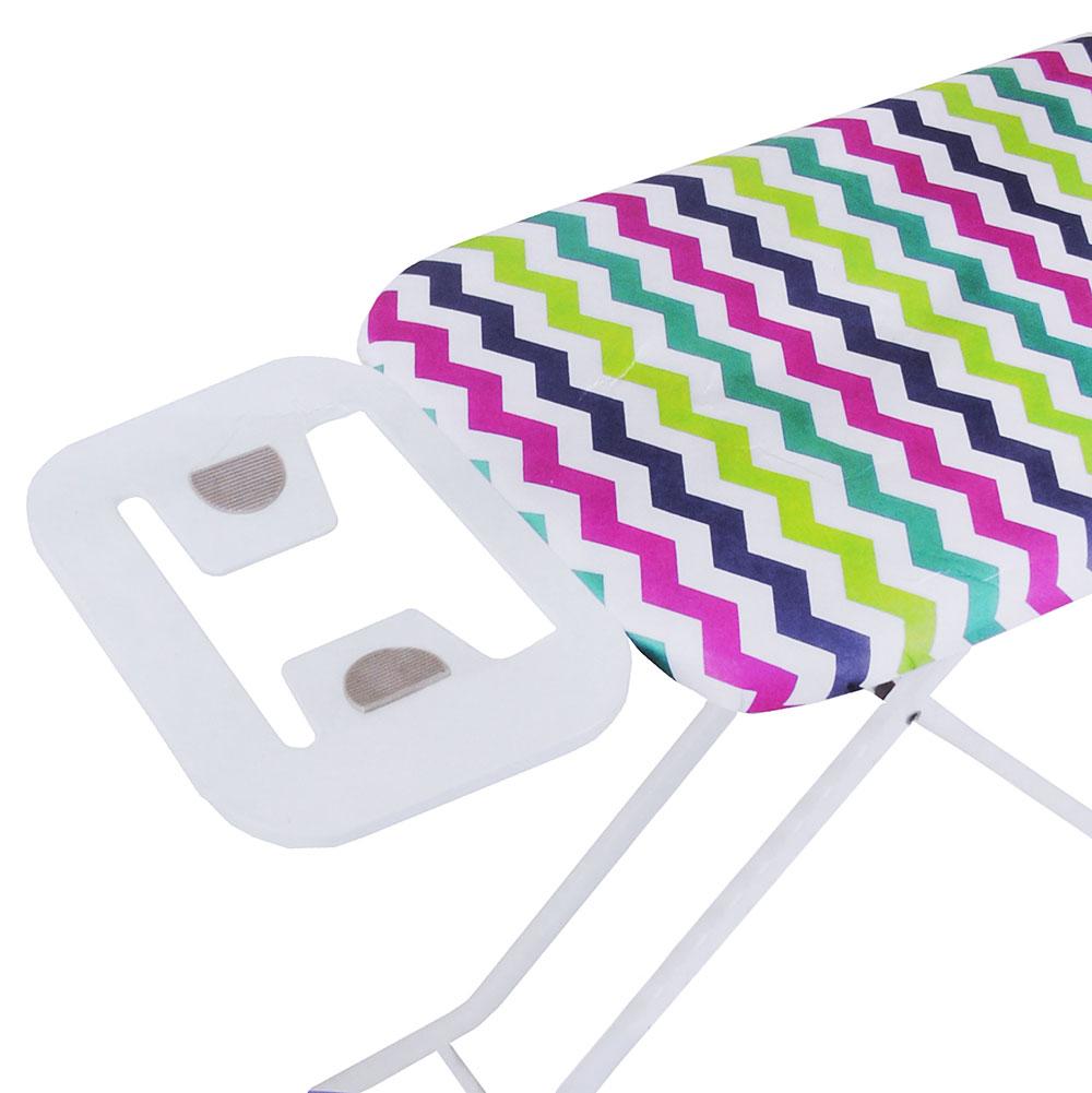 VETTA Чехол для гладильной доски на резинке, полиэстер, подкладка поролон, 140х50см, 5 дизайнов