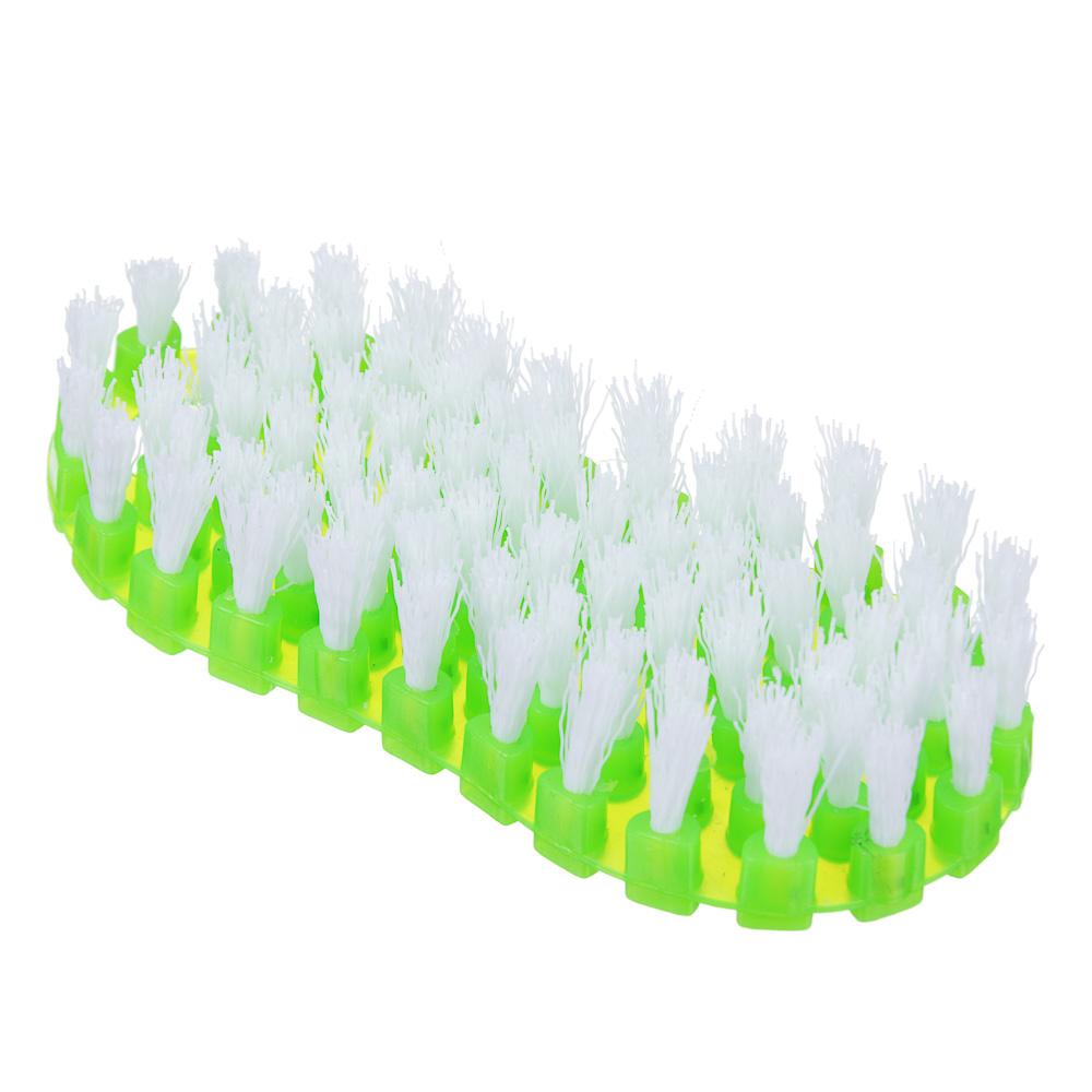 Щетка хозяйственная универсальная, гнущаяся, средняя щетина, пластик, 15 см, VETTA