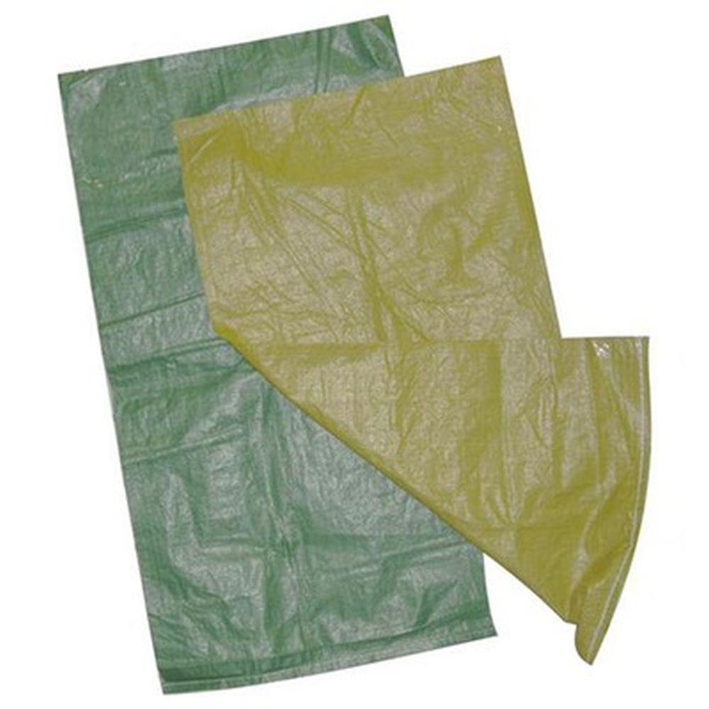 Мешок для строительного мусора полипропиленовый, зеленый, 115х75см