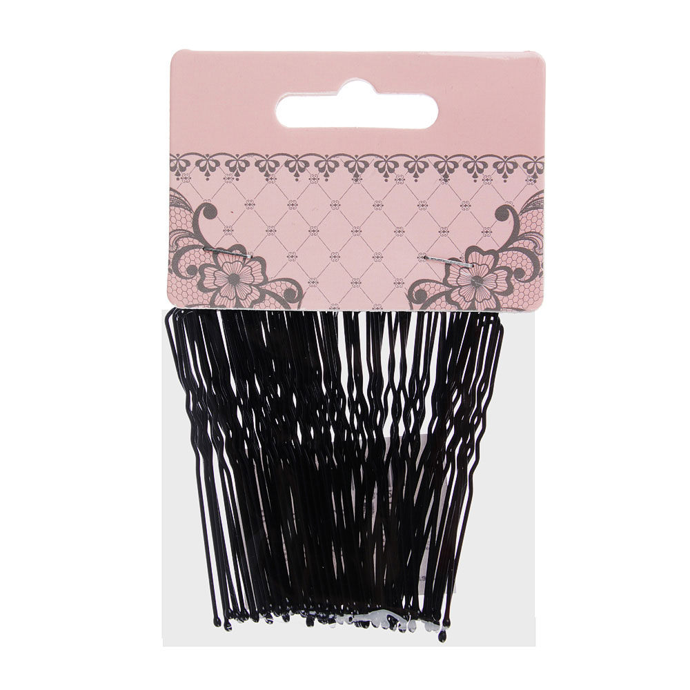 Шпильки для волос BERIOTTI, 50 шт, 6 см