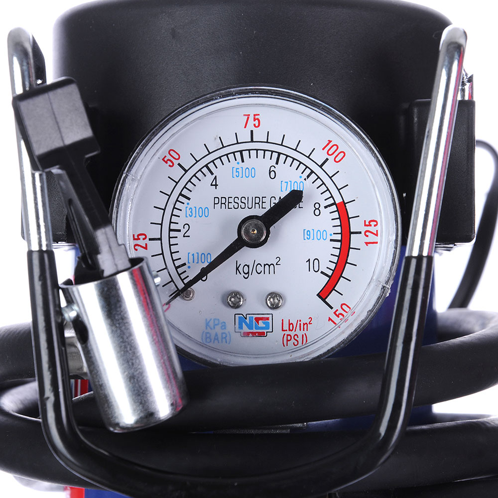 NEW GALAXY Компрессор автомобильный, штекер прикур, в сумке, 12V, 140W, 35 л/мин, металл