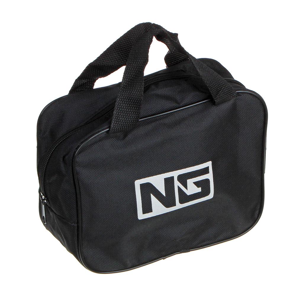 NEW GALAXY Компрессор автомобильный, штекер прикур, LED фонарь, 12V, 150W, 35 л/мин, металл