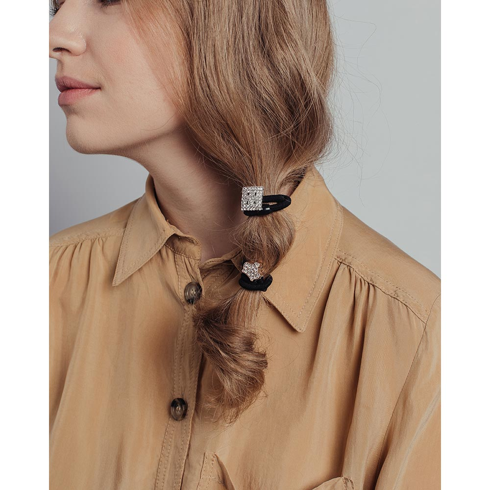 Резинки для волос BERIOTTI, 2 шт, d.5,5 см