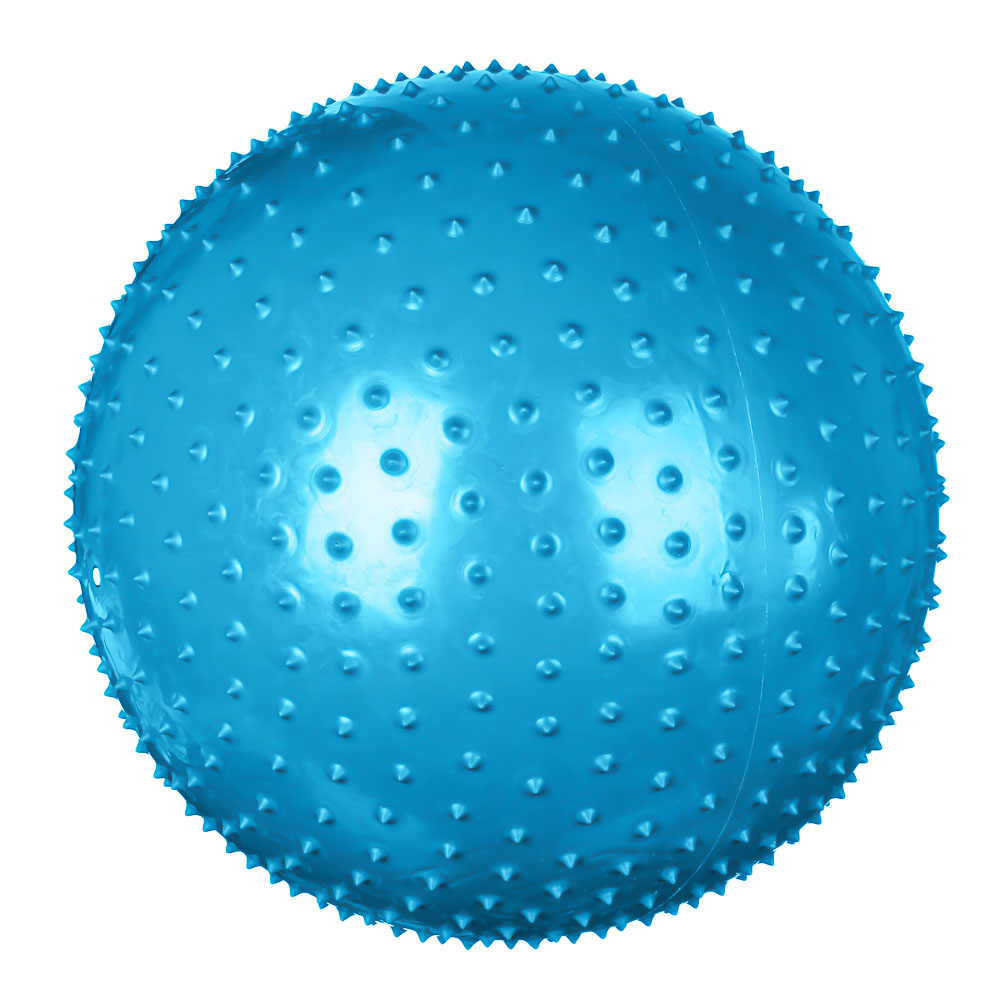 Мяч для фитнеса массажный, ПВХ, d75см, 1000 гр, 4 цвета, в коробке, SILAPRO