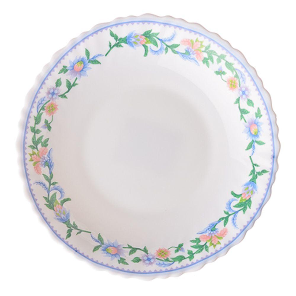 VETTA Илионея Тарелка суповая опаловое стекло тонкое, 21,5см, NHSP85C