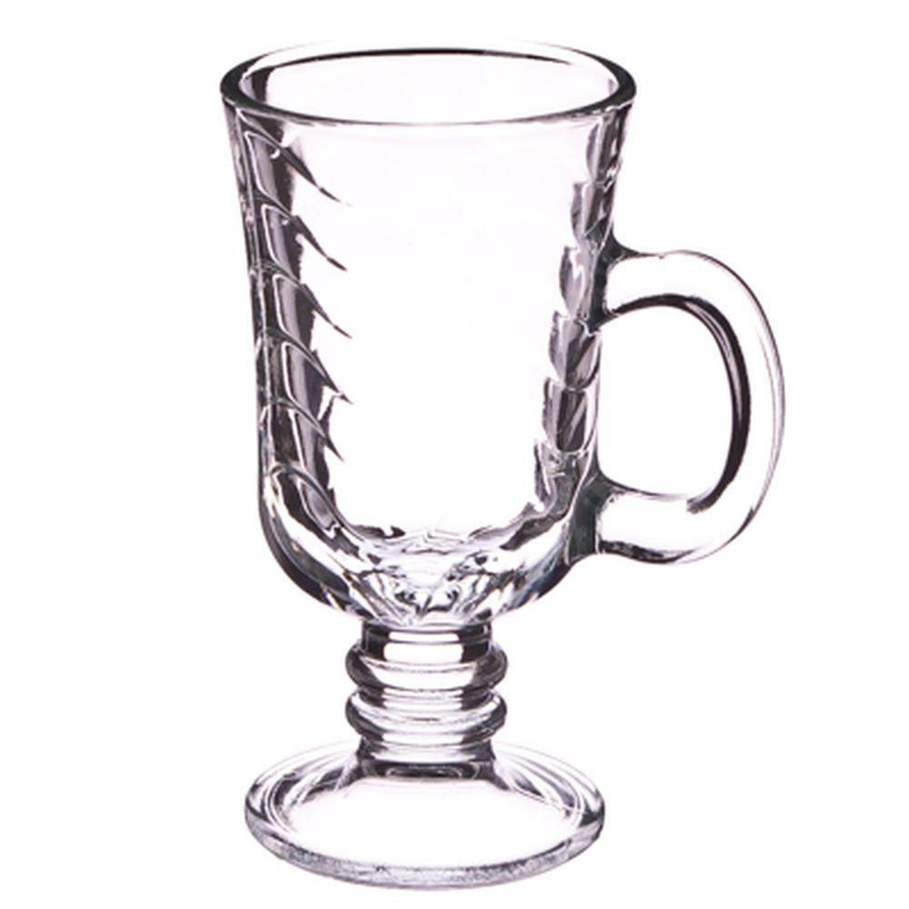 "PASABAHCE Набор кружек 2шт для кофе, на ножке, 215мл, ""Hawall"", 55381B"