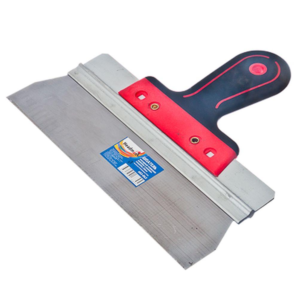 HEADMAN Шпатель фасадный нерж.сталь, усиленное полотно, 2-комп.ручка, 250мм