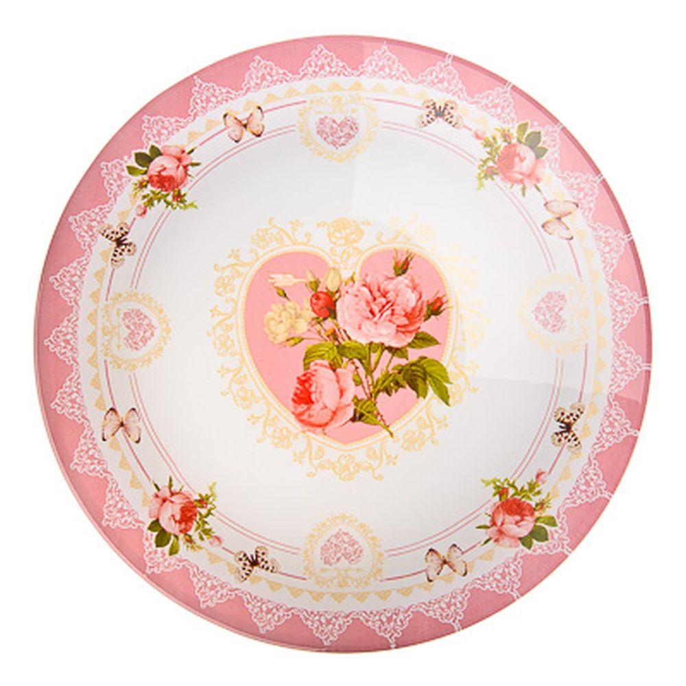 VETTA Букет роз Салатник стекло 22,8см, S302009