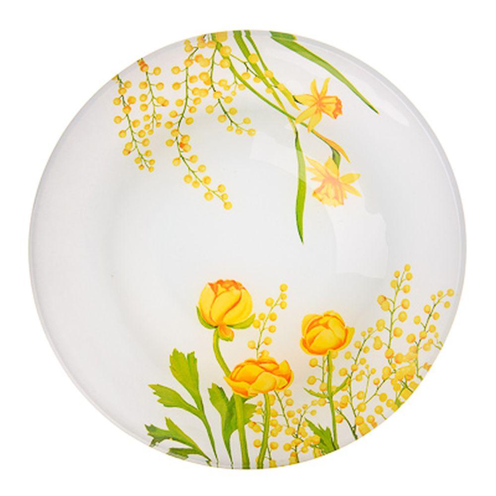 VETTA Весенние цветы Салатник стекло 17,8см, S302007