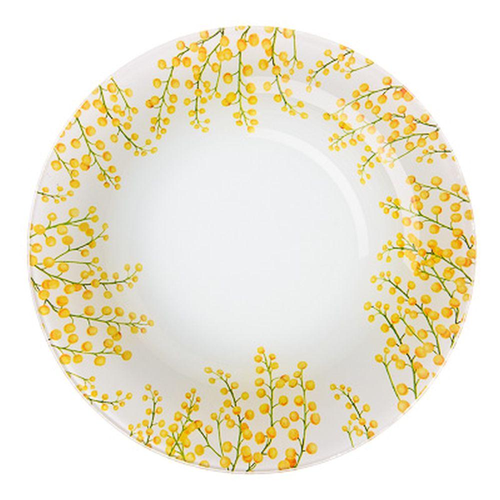VETTA Весенние цветы Тарелка суповая стекло 20см, S3030