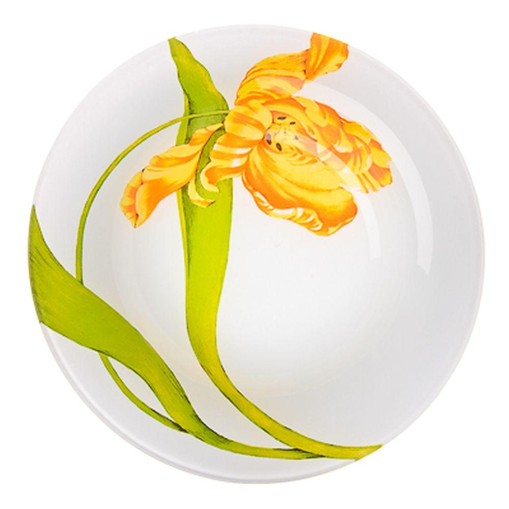 VETTA Тюльпаны Тарелка суповая стекло 20см, S3030
