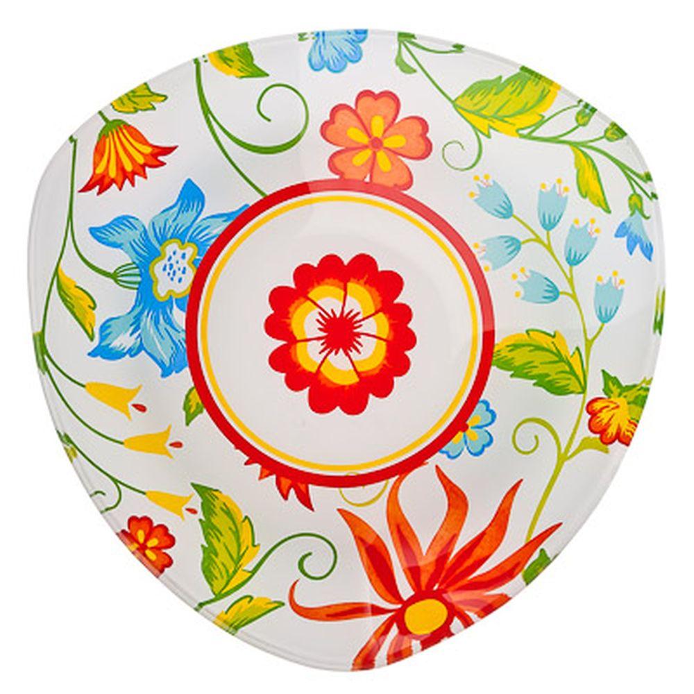 VETTA Весна Салатник треугольный стекло, 20см, S332008 H209