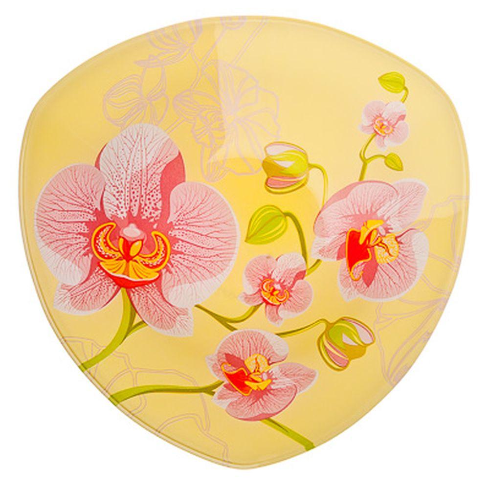 VETTA Орхидея Салатник треугольный стекло, 20см, S332008 H211
