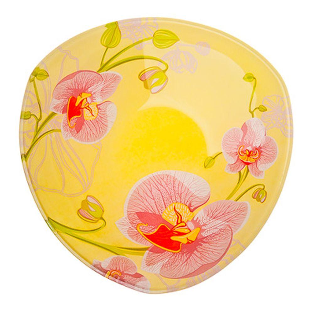 VETTA Орхидея Салатник треугольный стекло, 15,2см, S332006 H211
