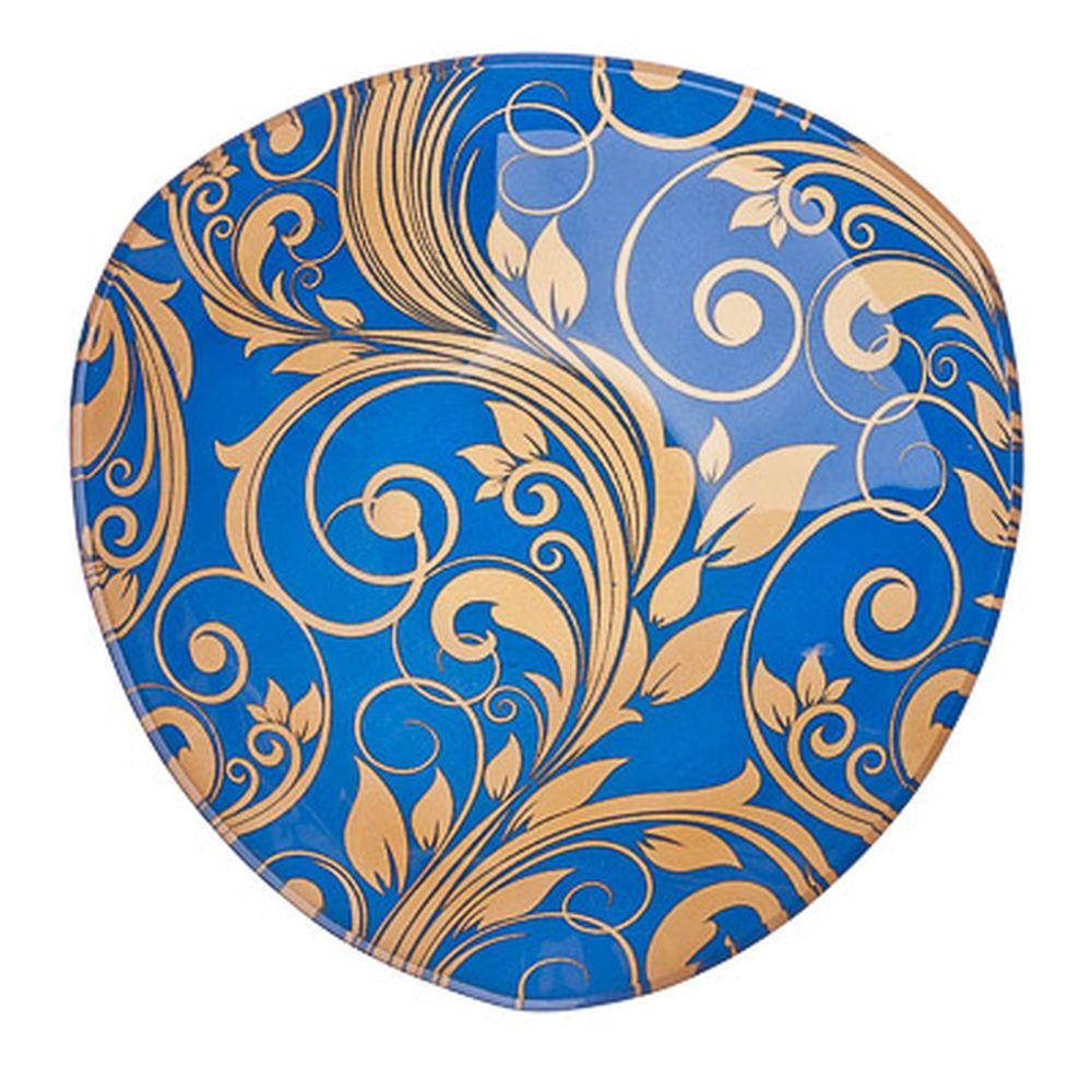 VETTA Золотая вязь Салатник треугольный стекло, 15,2см, S332006 H212
