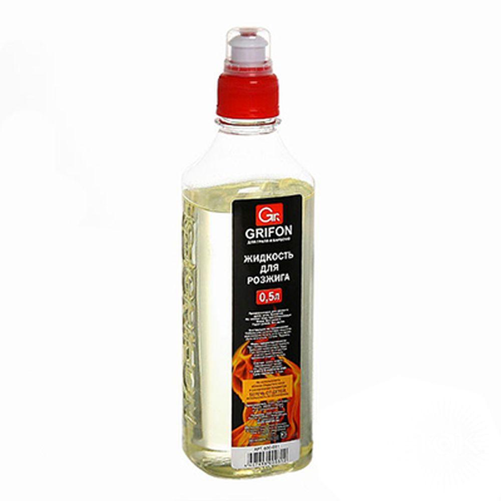 GRIFON Жидкость для розжига, 500мл, жидкий парафин, 600-031
