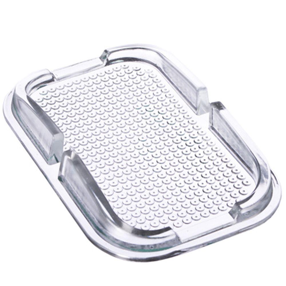 NEW GALAXY Коврик-держатель на панель нескользящий 10х15,3см прозрачный
