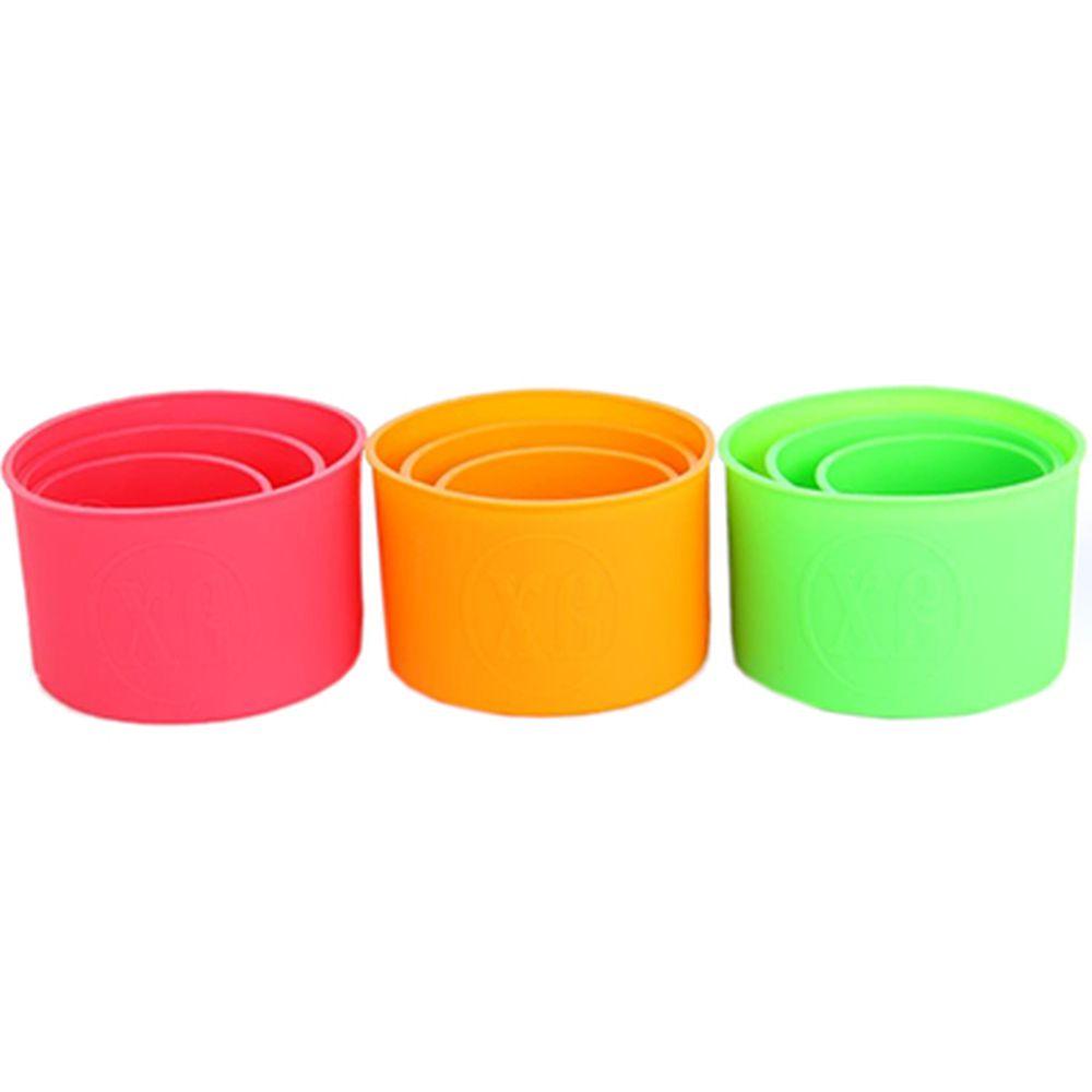 Набор форм силиконовых для кексов 3шт (d10x8см, d13x9cм, d15x10cм)