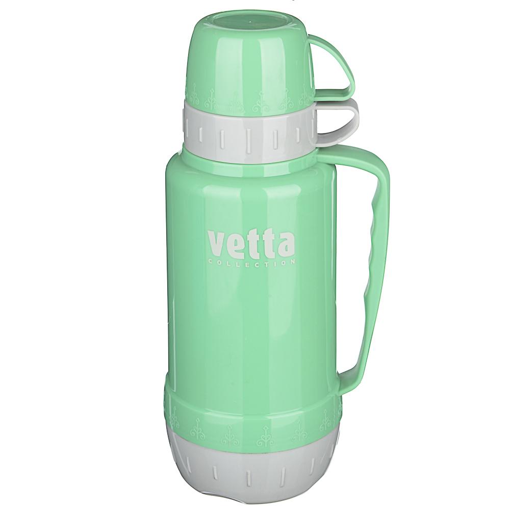 Термос VETTA Туристический 1,00л, стеклянная колба