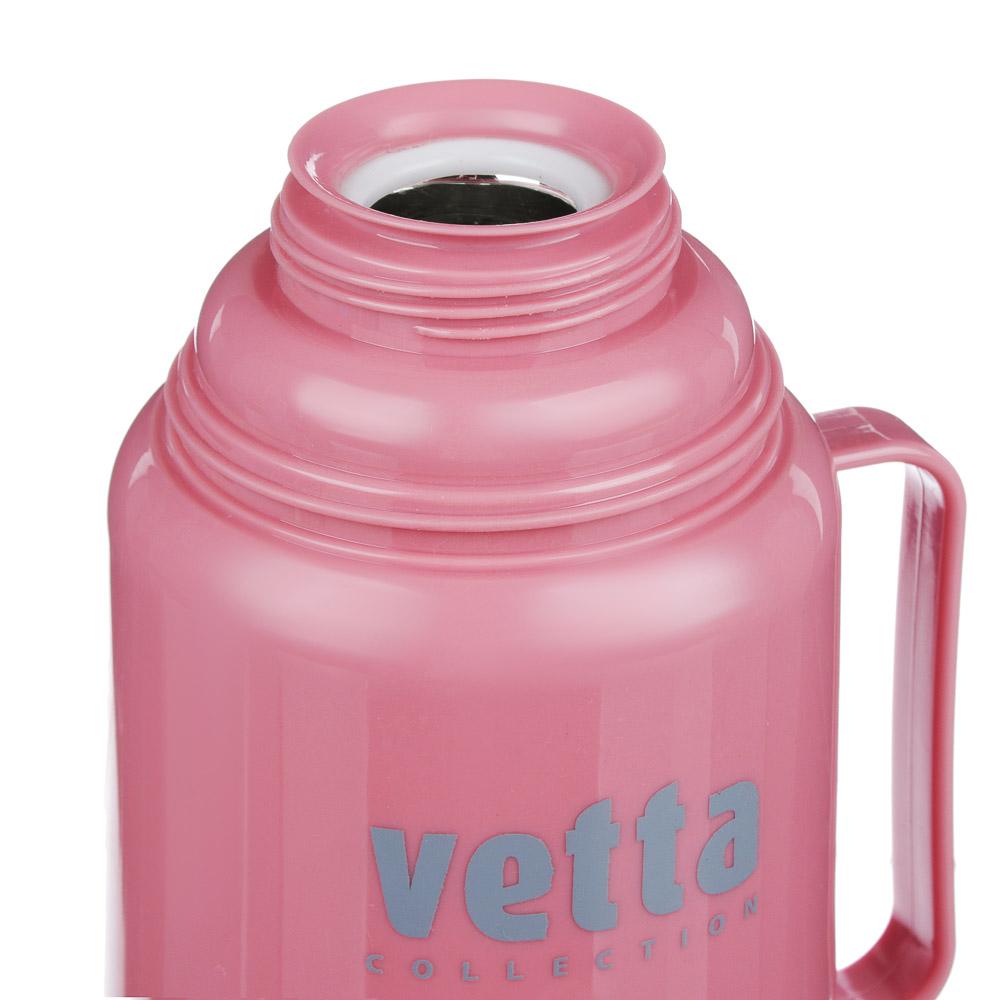 """Термос VETTA """"Туристический"""", 0,6 л, 3 цвета, стеклянная колба"""