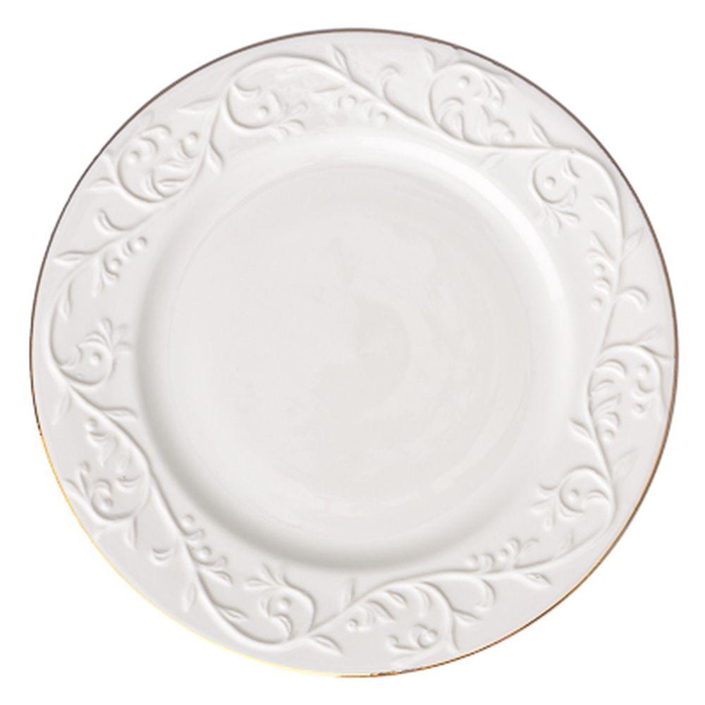 FARFALLE Гала Тарелка десертная 20см, упрочненный фарфор
