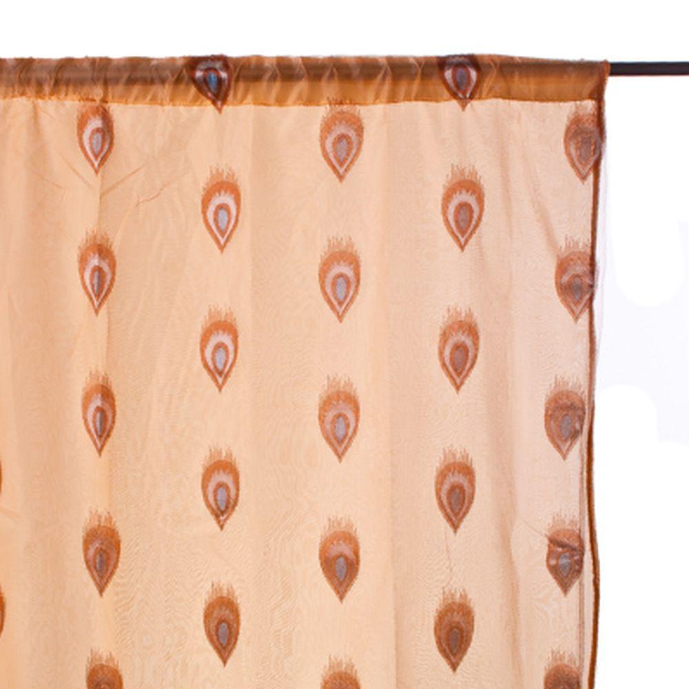 """Комплект двухслойных штор 2 шт, полиэстер, по 150x250см, """"Allure"""", арт.2-06"""