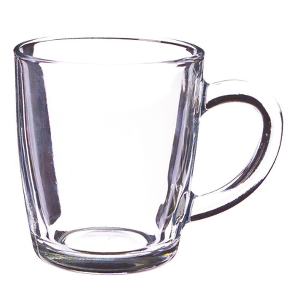 """PASABAHCE Кружка стеклянная 340мл, """"Basic"""", 55531SLB"""