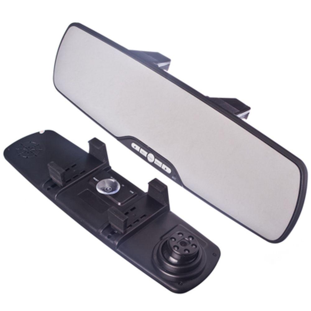 "NEW GALAXY Зеркало заднего вида со встроенным видеорегистратором, экран 2,7"" разреш. HD"