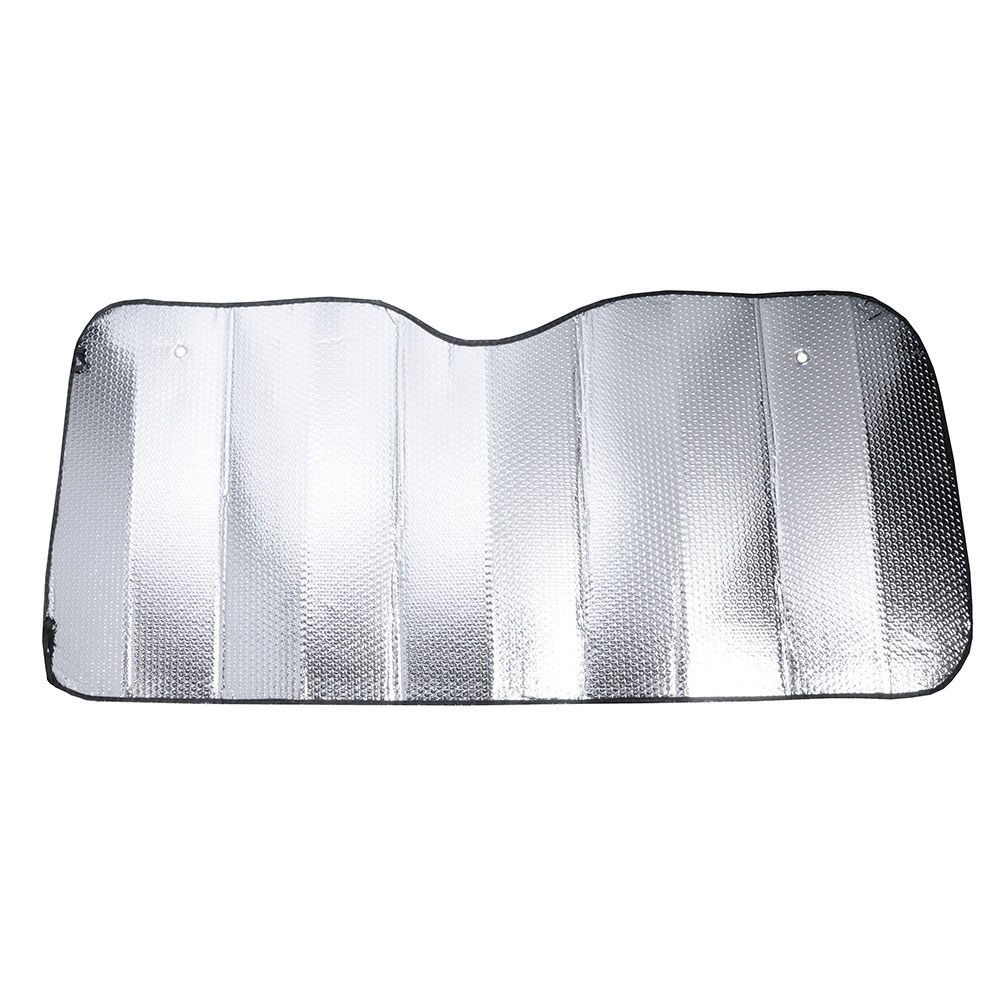 NEW GALAXY Шторка солнцезащитная на лобовое стекло, 145x70см, серебристая, 110035S