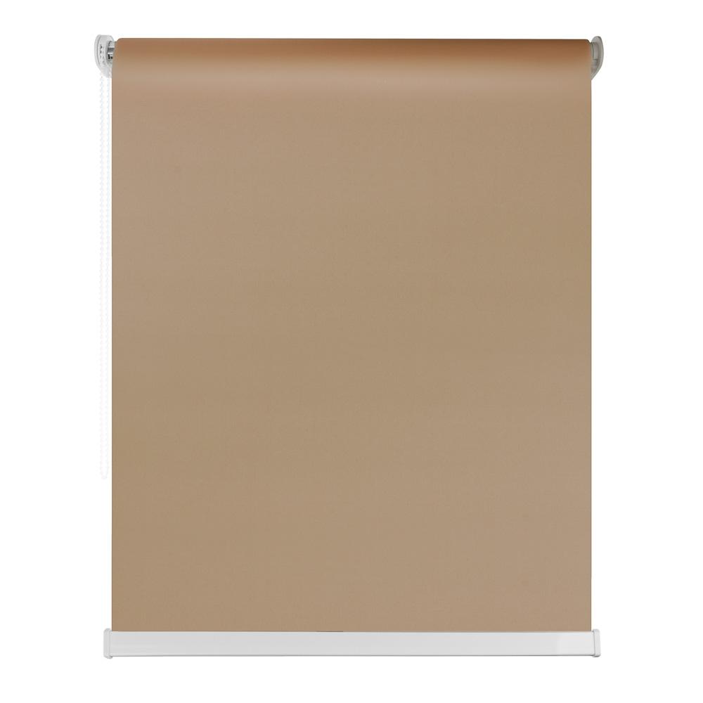 Штора рулонная цветная, полиэстер, 140х160см, 4 цвета