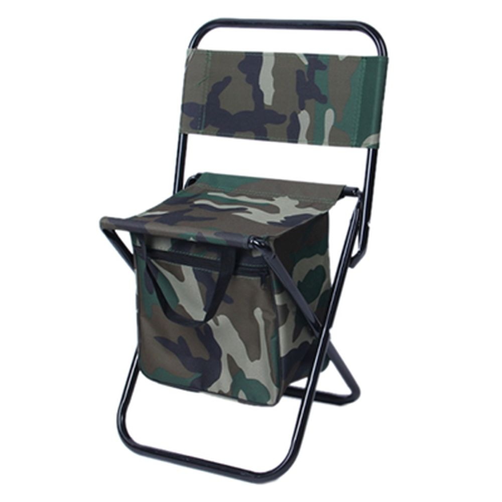 ЧИНГИСХАН Стул складной с изотермической сумкой, сталь, oxford 600D, цвет камуфляж, СНО-114-5(6,7)