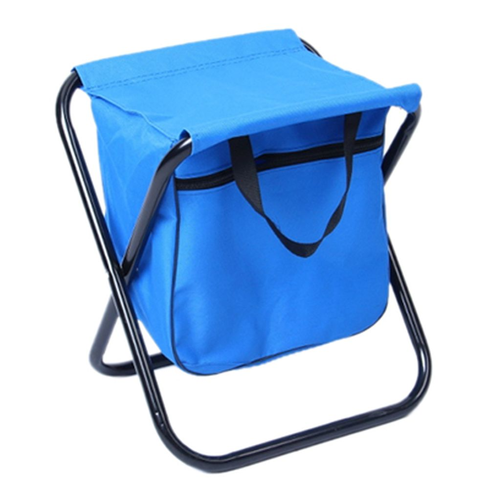 ЧИНГИСХАН Стул складной с изотермической сумкой 27х32х28см, сталь d16мм, oxford 600D, СНО-114-4