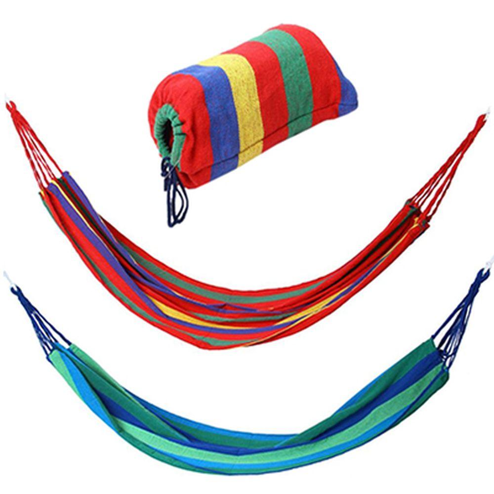 Гамак (45+200+45)х100см, хлопок/полиэстер, полосатый, до 100кг, 2 цвета, SJ-A38