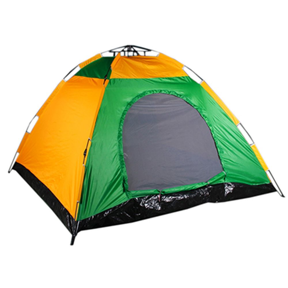ЧИНГИСХАН Палатка 4-местная, автомат, 250х250х150см, ПВХ, полиэстер 190T, LS-006