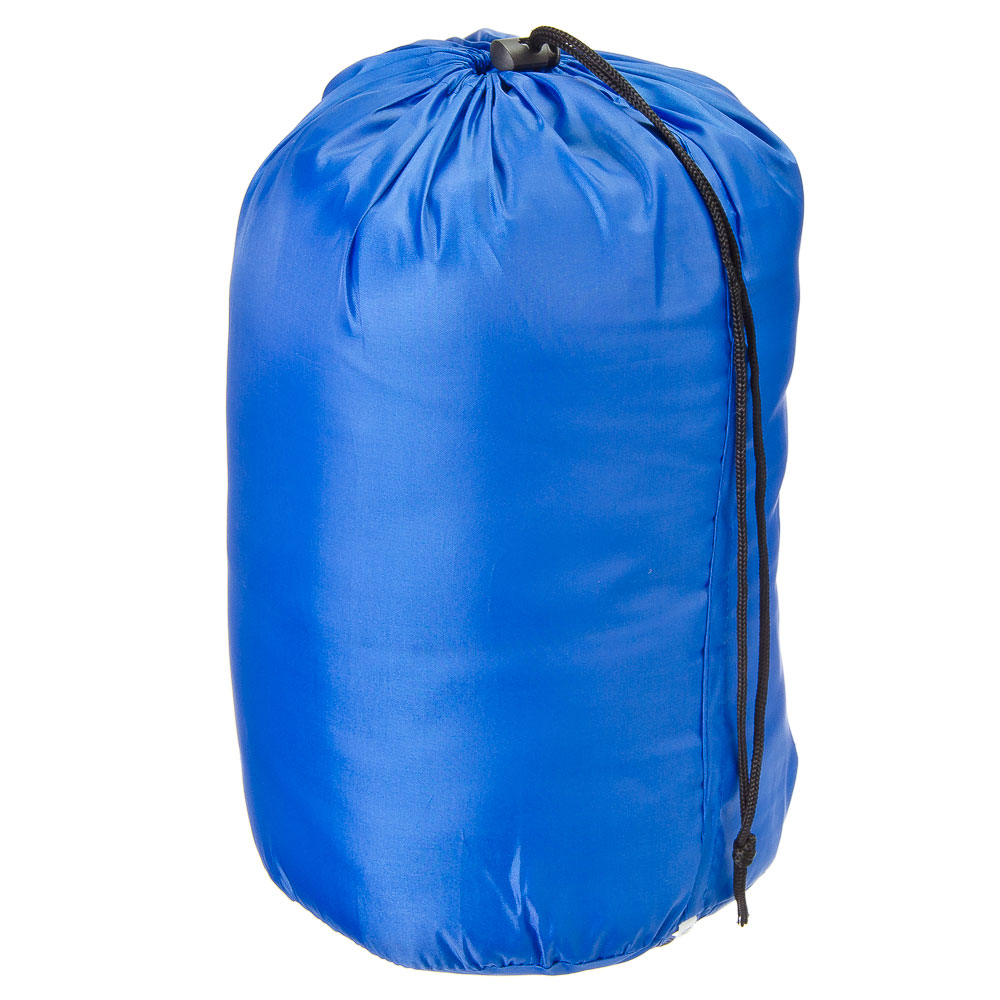 ЧИНГИСХАН Спальник-одеяло, 180х75см, полиэстер 170T, холлофайбер 150г/м2, +5/+10С, RS-3019