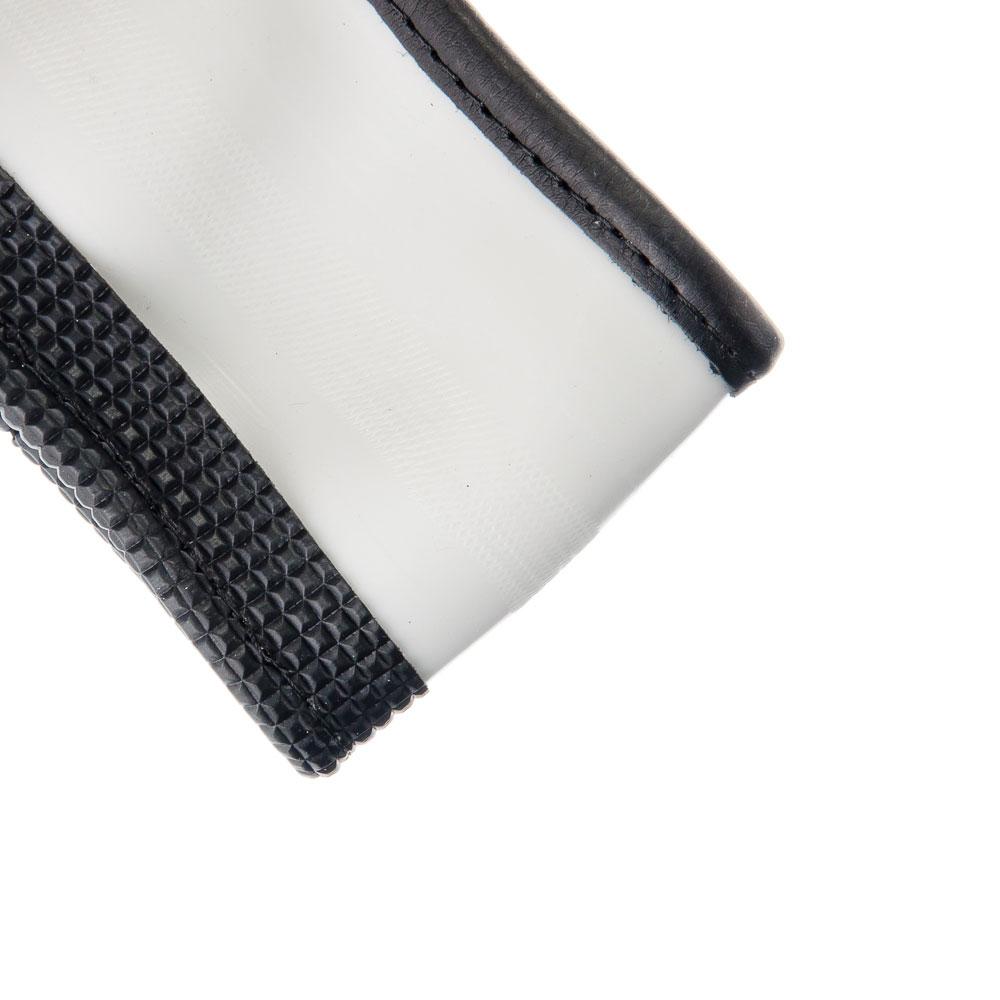 NEW GALAXY Оплетка руля, экокожа, со вставками, черный, разм. (М)