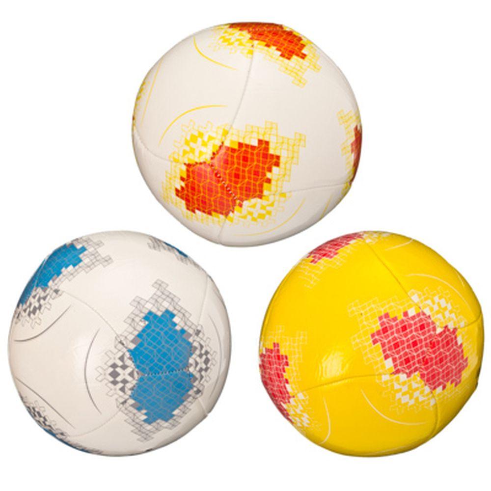 """Мяч футбольный """"New style"""", ЭВА, 3 сл, 20см, 3 цвета, ФНС-007"""