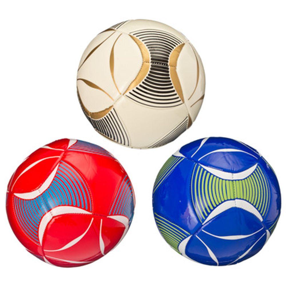 """Мяч футбольный """"New style"""", TPU, 3 сл, 21см, 3 цвета, ФНС-010"""