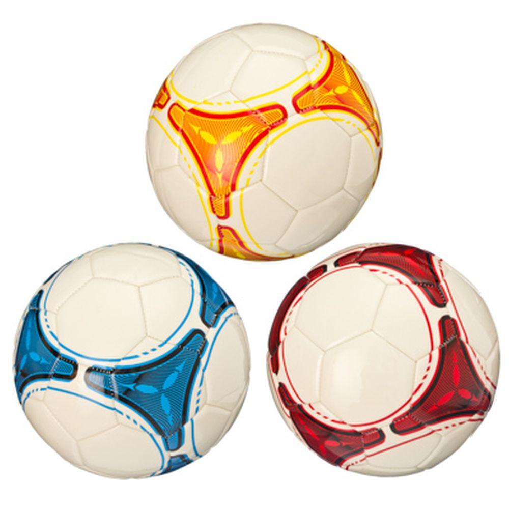 """Мяч футбольный """"New style"""", ЭВА, 3 сл, 21см, 3 цвета, ФНС-010"""