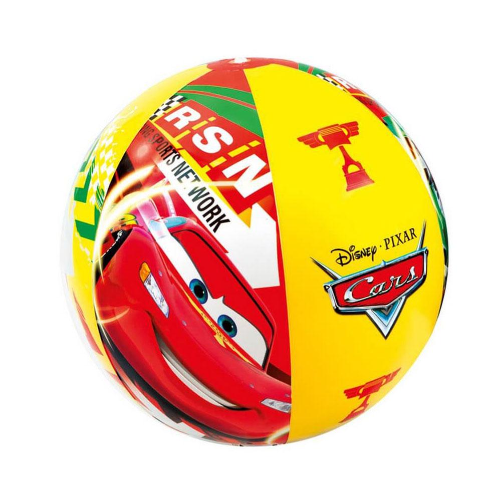 Мяч пляжный надувной, 61 см, INTEX Тачки, 58053
