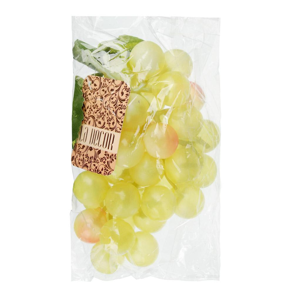 """LADECOR Ягоды искусственные """"Виноград"""", пластик, 3 цвета, 36 ягод, арт.11-01"""