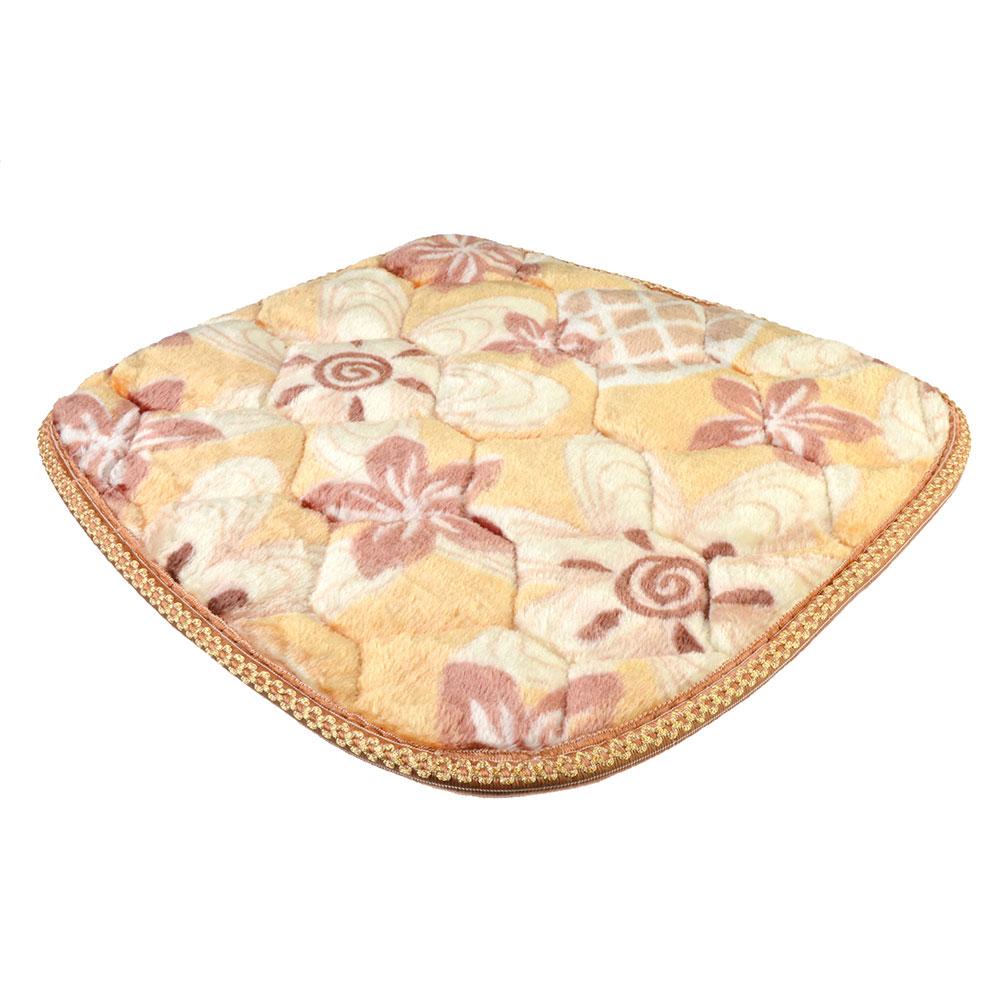 Подушка декоративная на стул с антискользящим слоем, 42х42см