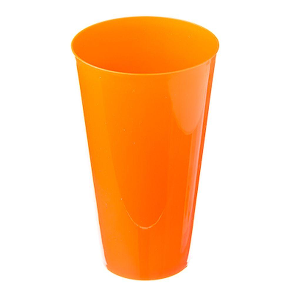 Стакан пластик 550мл, 4 цвета, 9194