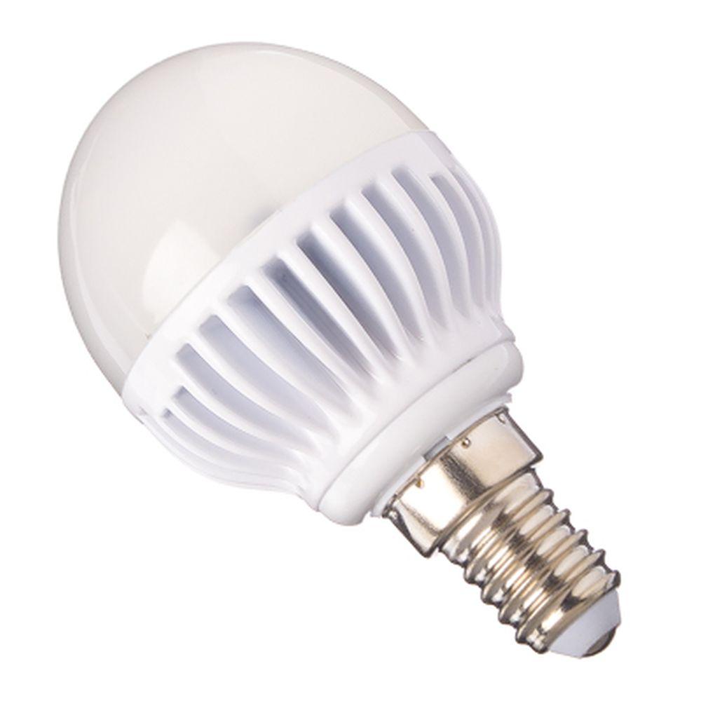 ECOLA Лампа светодиодная шар G45 E14 5.4W 4000 81x45, K4LV54ELC