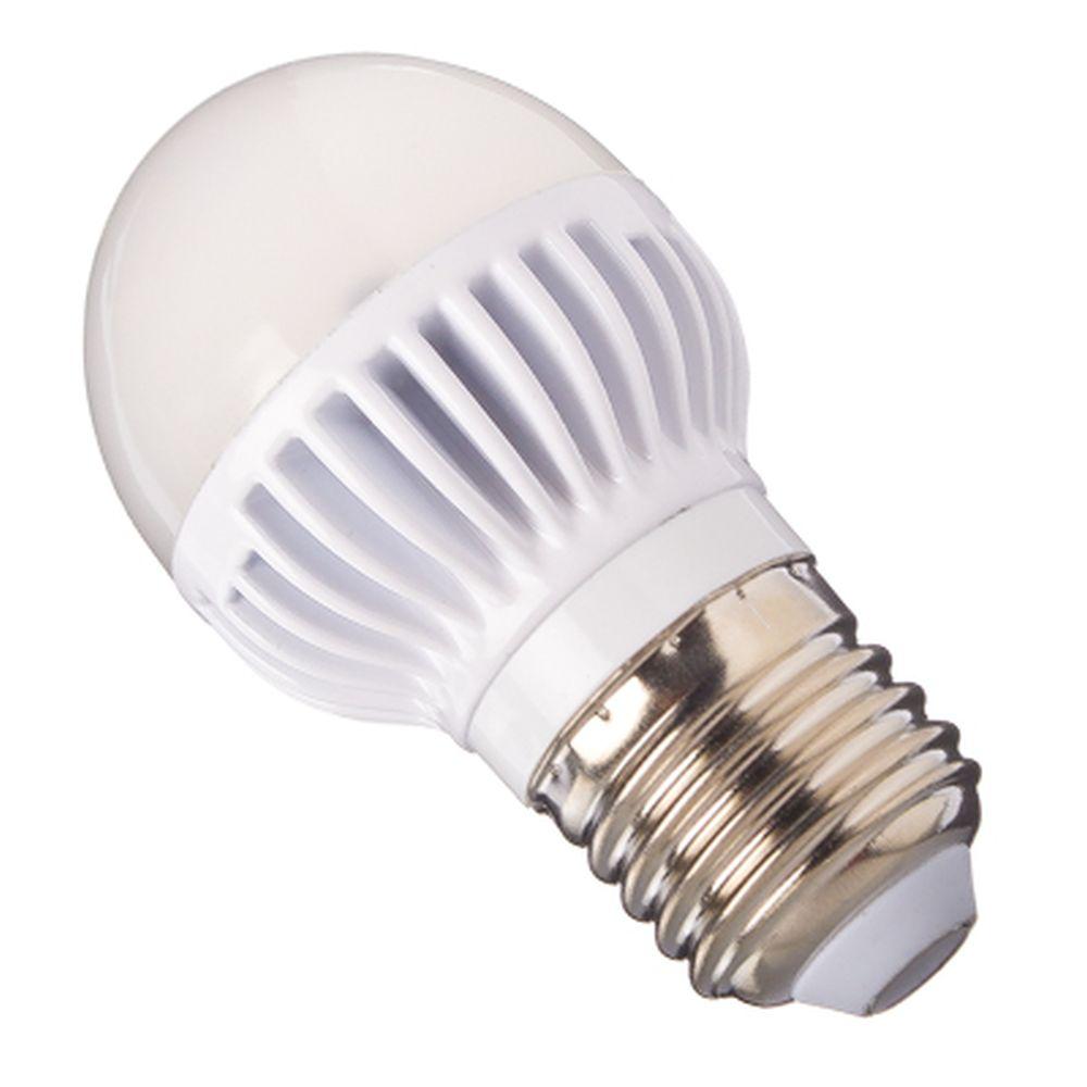 ECOLA Лампа светодиодная шар G45 E27 5.4W 4000 81x45, K7LV54ELC